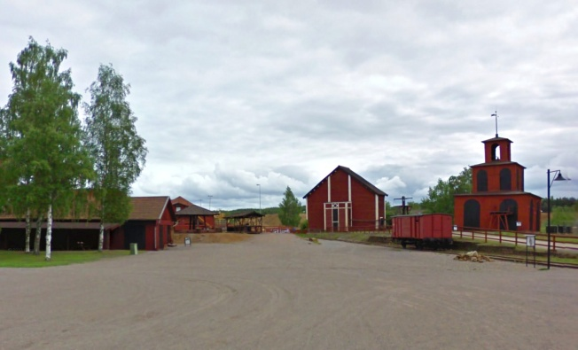 The copper mine at Falun