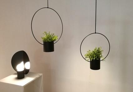 Lamp & pots by Hanna Särökaari