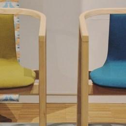 Frame armchairs by Máté Horváth