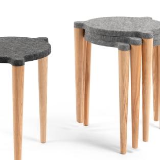 Taburet Dot stool by Mihkel Mölder & Joonas Torim