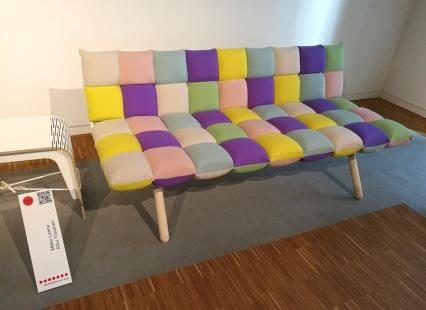 Tuohinen sofa by Mikko Lanne & Riku Toivonen