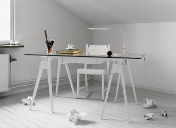 Arco desk by Chuck Mack
