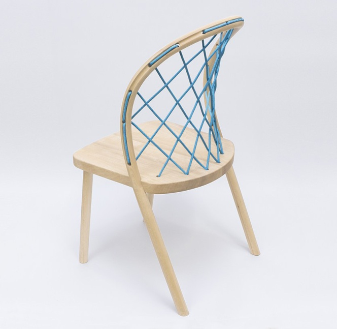 Paraboloid chair by Kunikazu Hamanishi