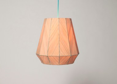 Sewing lamp by Kunikazu Hamanishi