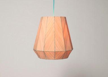 Sewing lamp by Kunikazu Hamanishi