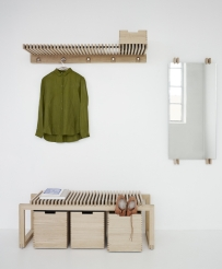 CUTTER Bench & Wardrobe by Skagerak
