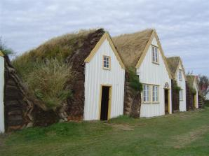 Traditional Turf Houses in Iceland