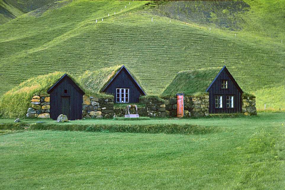 Would You Live in an Icelandic Turf House?