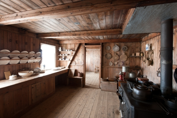 Interior of a Farm House in Iceland