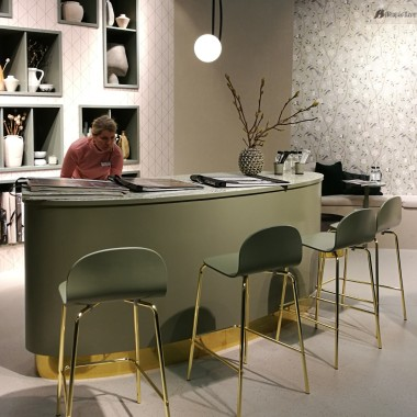 Stand of Swedish wallpaper manufacturer WallVision