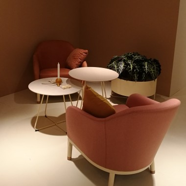 EDITH armchairs by Johanson