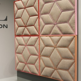 ROMB acoustic panel by Johanson