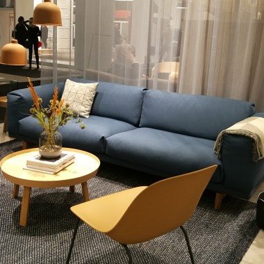 FIBER chair, REST sofa, AROUND table by Muuto